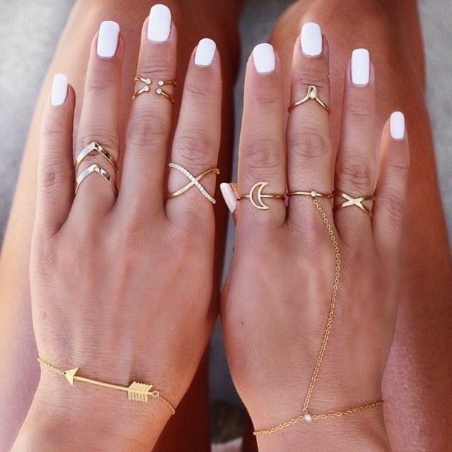 Dat #ringgameON  #TBT to our Aussie bae @gypsylovinlight's perfect stacks // feat. Chevron Super Stack Rings x Orbit & Crystal…