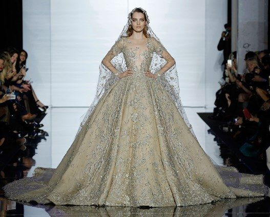 Zuhair Murad's 2015 Haute Couture #wedding #dress #princess #gorgeous