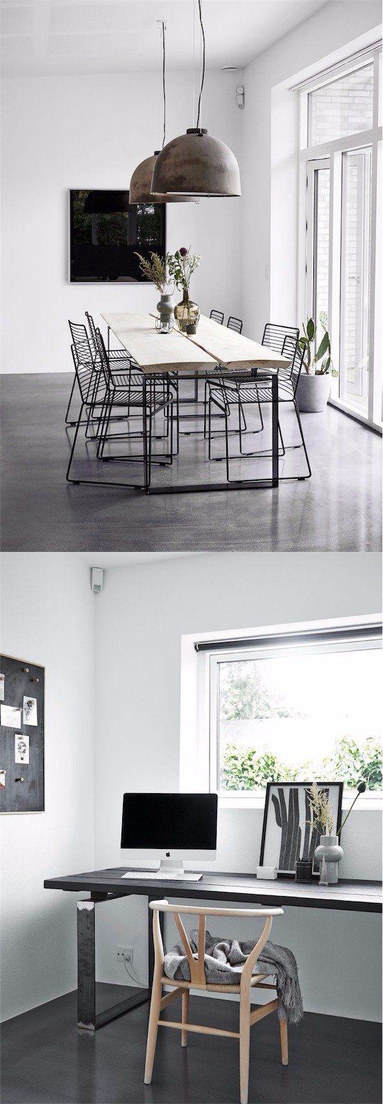 Elegante interior escandinavo / http://bobedre.dk