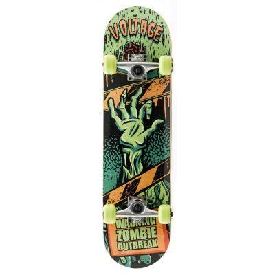 Voltage Zombie Complete Skateboard - Green