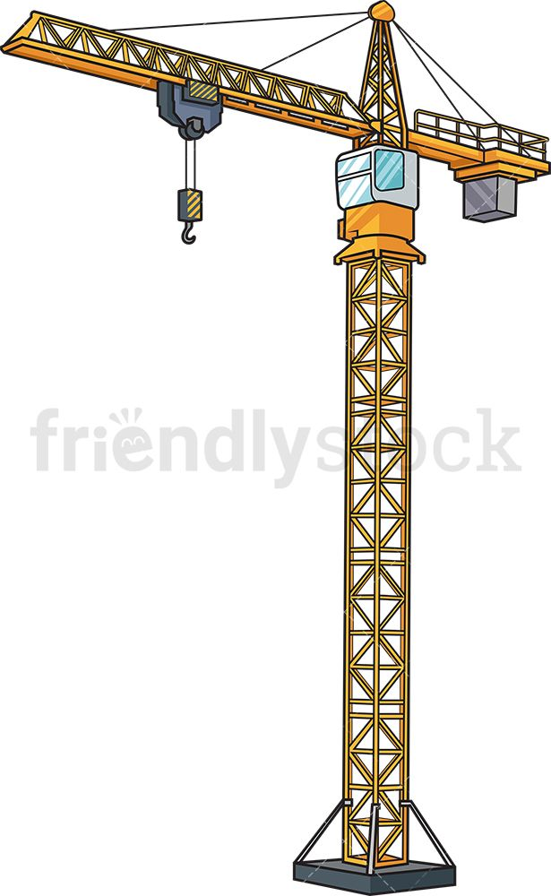 Crane Clipart Machinery Png - Machinery Clipart Png, Transparent Png -  kindpng