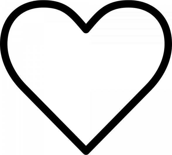 12 Favorite White Png Icon Png Icons Heart Icons Icon