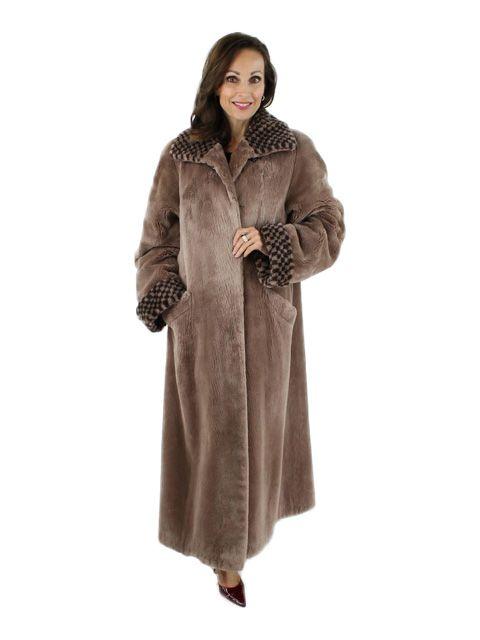 Coyote Fur Coat Womens Large Estate Furs >> Sheared Beaver Fur Coat Women S Large Tan In 2019