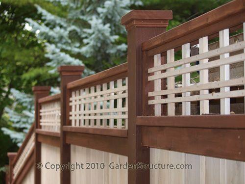 Cedar Fence Designs 162 best cedar fence images on pinterest garden fences garden 35 wood fence designs and fence ideas wood fence plans and details workwithnaturefo