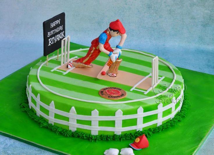 Cricket Cake !!  by Hima bindu