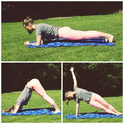 Yoga Sequence for strong arms!