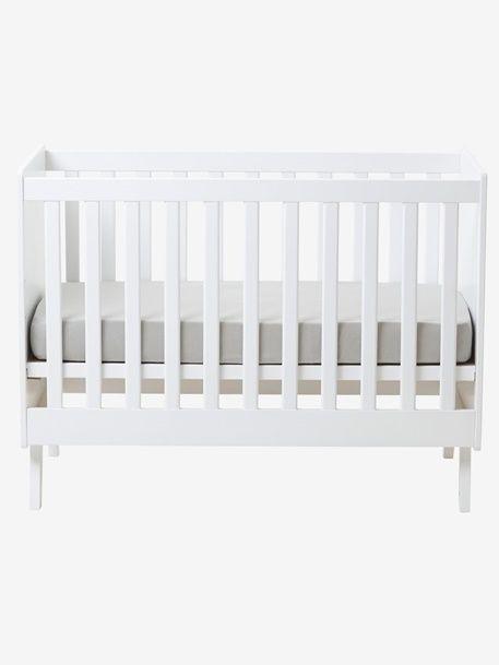 Lit bébé transformable à barreaux Madison - vertbaudet