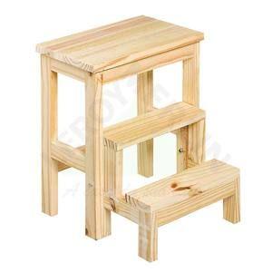 Buscando Banqueta Escada 3 Degraus Pinus 0,51m 70kg Ideale? Clique aqui e confira as melhores ofertas no site da Leroy Merlin!