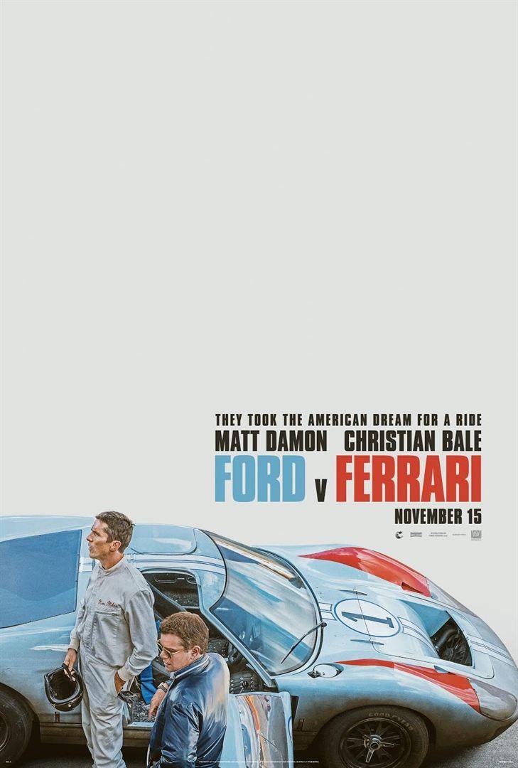 Ford Vs Ferrari Filme Online Assistir Legendado Ferrari Poster