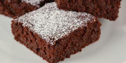 Chocolate and beetroot brownie