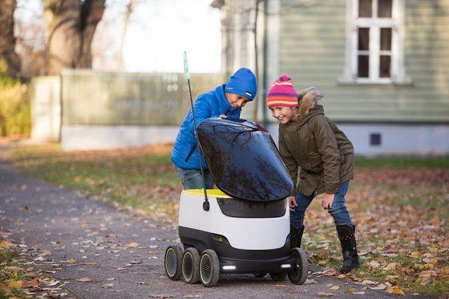 Tecnoneo: Los cofundadores de Skype desarrollan un nuevo sistema de reparto a domicilio realizado por robots autónomos