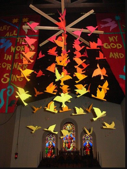 pentecost messy church