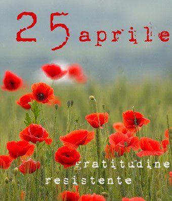 La #Liberazione è un esercizio quotidiano, la #Resistenza è nelle cose di ogni giorno. Buon #25Aprile a tutti!