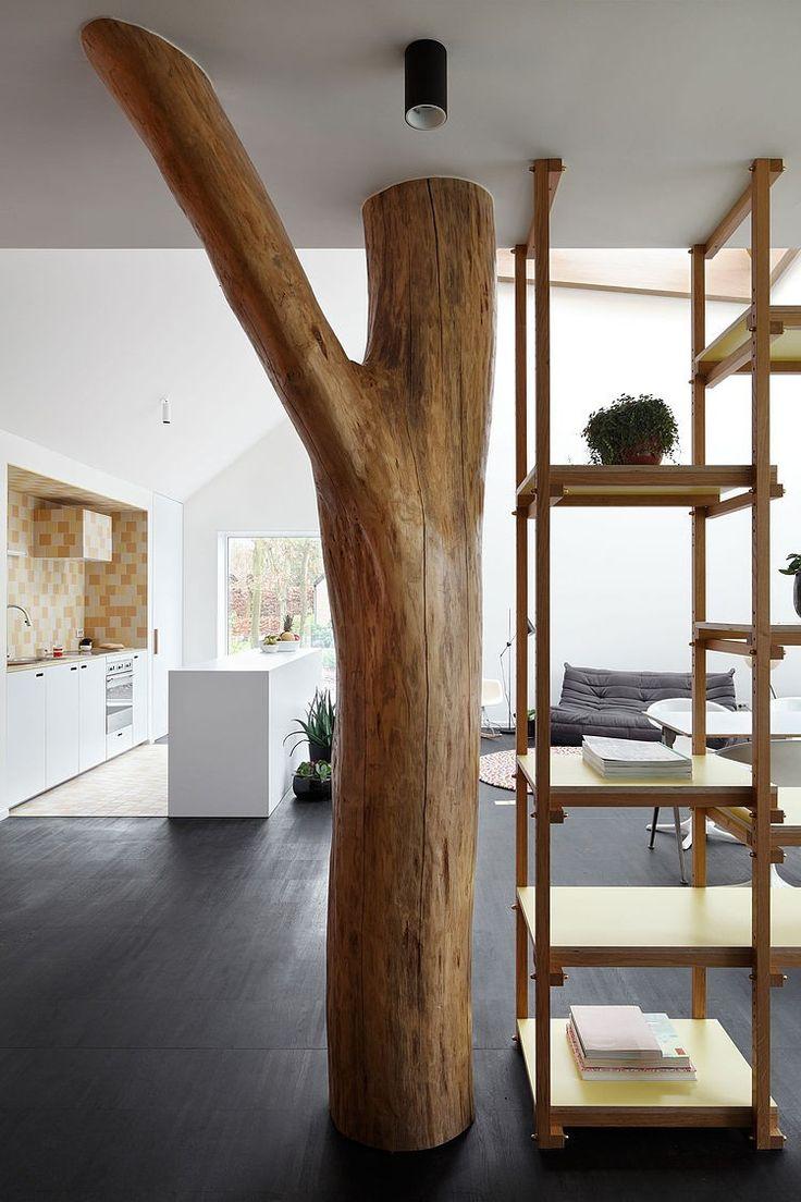 Cette maison minimaliste fut conçue par LOW Architecten à Anvers, en Belgique.
