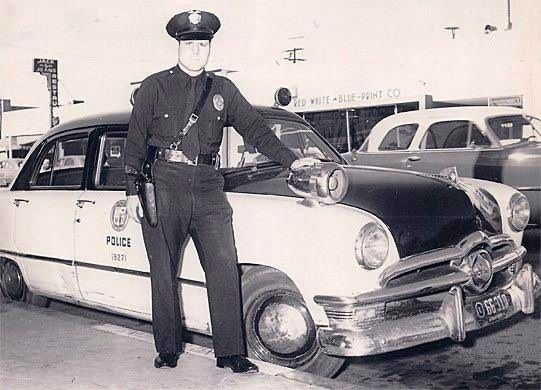 119 best law enforcement images on pinterest police cars police officer ingram poses with his 1950 ford custom police car in 1951 malvernweather Choice Image
