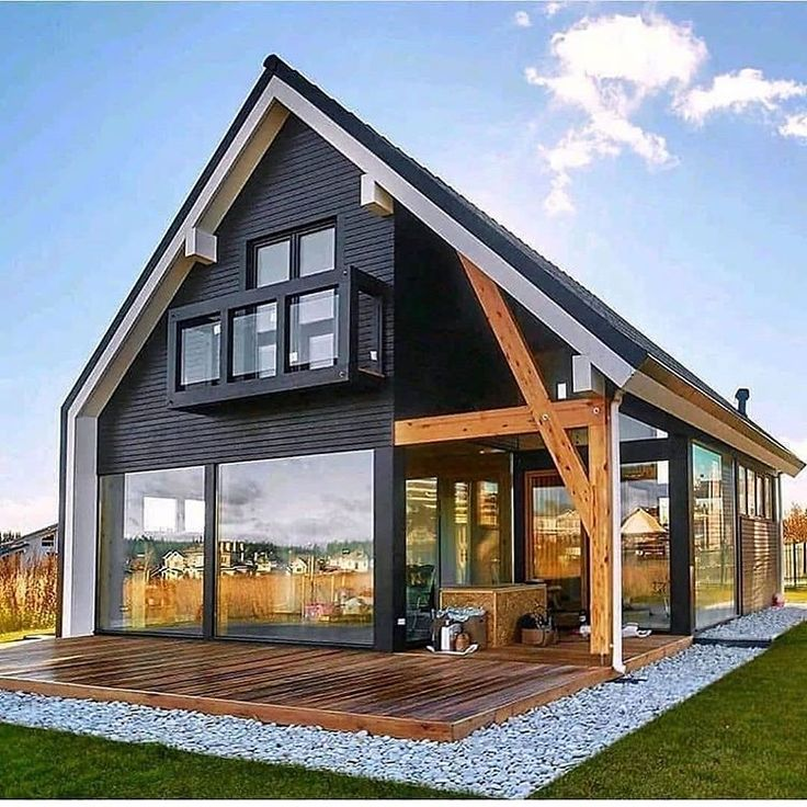 Modern Home Exterior Design Ideas 2017: Farmhouse Charm On Instagram: What Are Your Thoughts On
