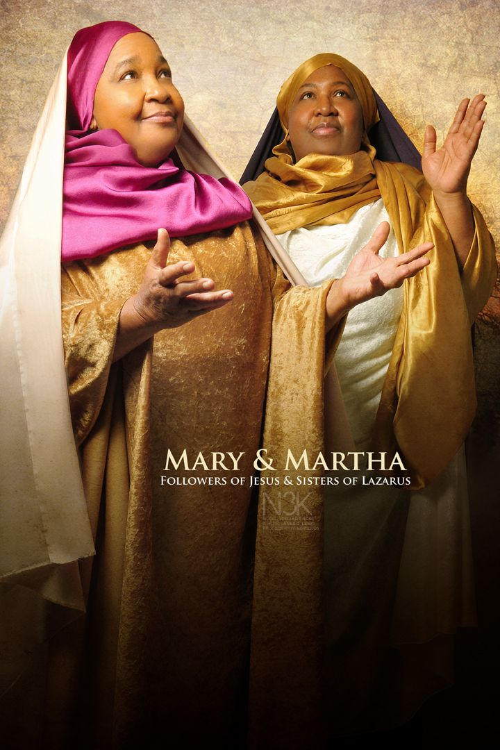 Mary & Martha by International Photographer James C. Lewis  | ORDER PRINTS NOW: http://fineartamerica.com/profiles/2-cornelius-lewis.html