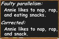 Faulty Parallelism - Definition and Examples