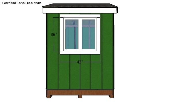 6x8 Ice Shanty Plans Free Garden Plans How To Build Garden Projects In 2021 Ice Shanty Plans Ice Fishing Shack Plans Ice Shanty