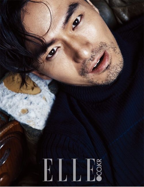 Lee Jin Wook for Elle Korea November 2015. Photographed by Kim Young Joon
