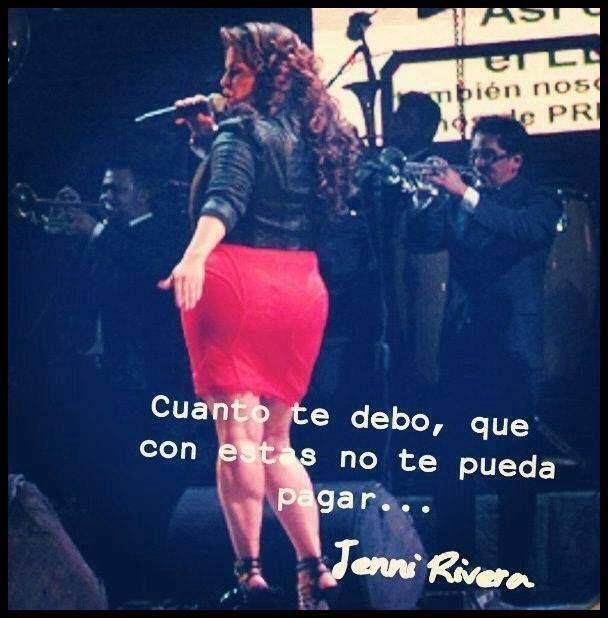 Frases De Jenny Rivera