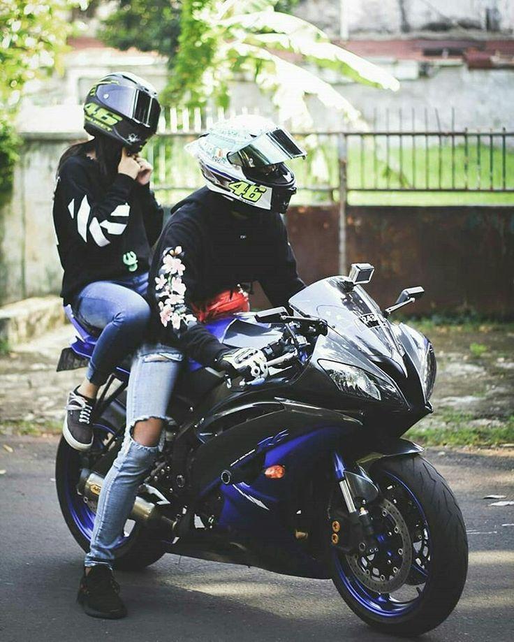auf dem Rücken eines Motorrads fahren – Long hair styles – #auf #dem #eines… …