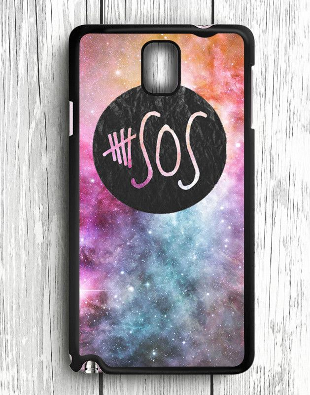 5 Second Of Summer Logo Galaxy Samsung Galaxy Note 3 | Samsung Note 3 Case