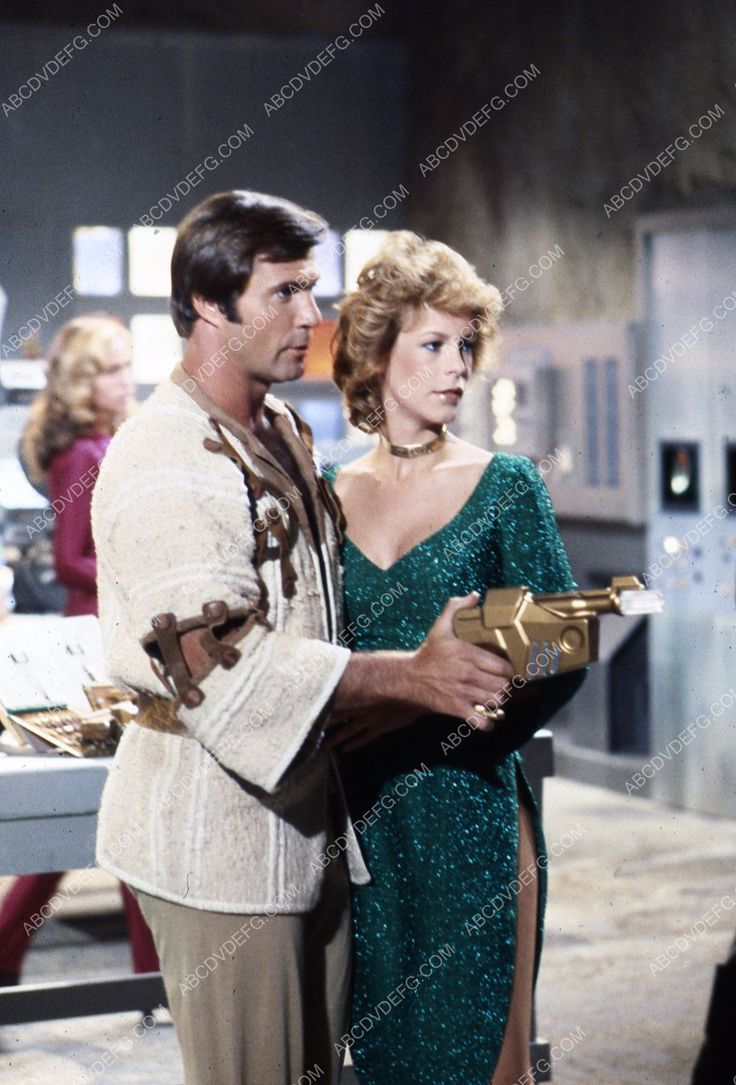 Gil Gerard Jamie Lee Curtis Tv Buck Rogers In The 25th