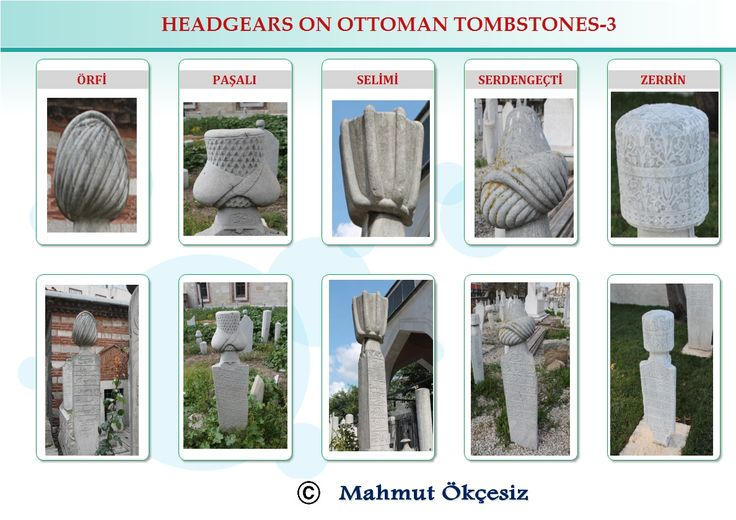 Occupations on Ottoman tombstones, group three