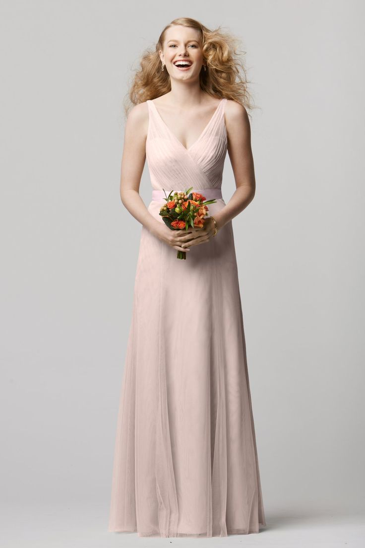 122 best neutral bridesmaid dresses images on pinterest mix gorgeous full length neutural bridesmaid dress by wtoo by watters style 658i ombrellifo Gallery