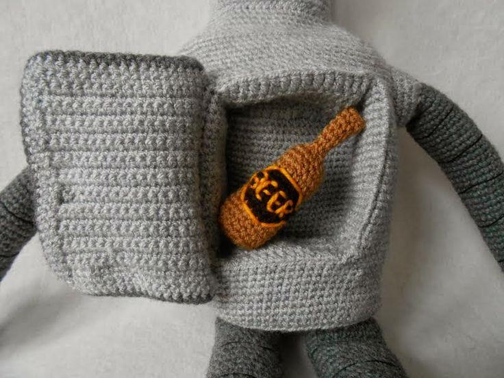 crochet Bender Futurama