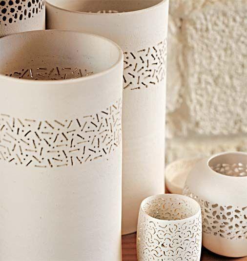 Perforated ceramic from Brazil -  O rico artesanato brasileiro - ceramica perfurada                                                                                                                                                                                 Mais