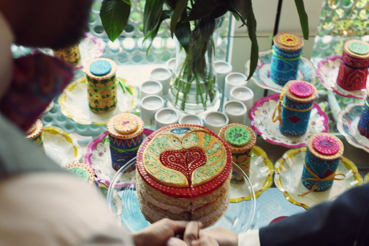 A partnership celebrated with love friends and cake