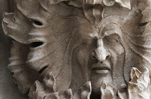 St Lorenz church green man   Flickr - Photo Sharing!