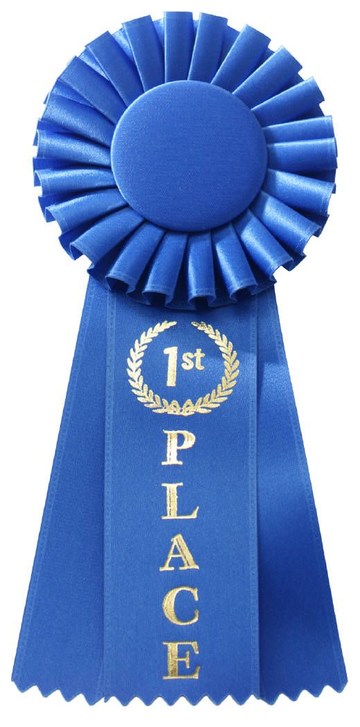 first place ribbon template