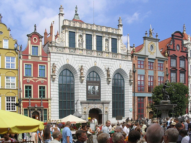 Artus Court in Gdańsk was home to the oldest Polish mercantile exchange, established in the 14th century.