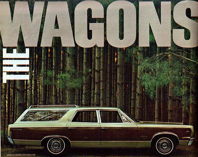 1967 American Motors Ambassador 990 Station Wagon by coconv, via Flickr