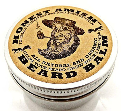 Beard Balm Organic Oil Wax Cream Leave Conditioner All Natural Vegan Butters #BeardBalm