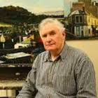 "Joe McIntyre Duncan of Jordanstoune, Dundee Scotland.  Artist of 'Summer in the City"" Series portraits of Dundee."