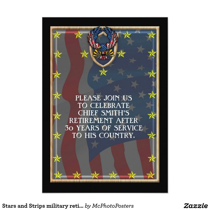39 best Military retirement party invitations images – Military Retirement Party Invitations