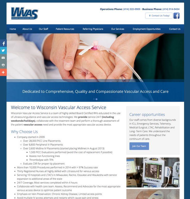 Wisconsin Vascular Access Service PICC Midline