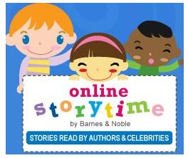 WOW! Awesome Online Story Time.  The stories are read by authors- a great site when you need something extra to do for 5-6 min.