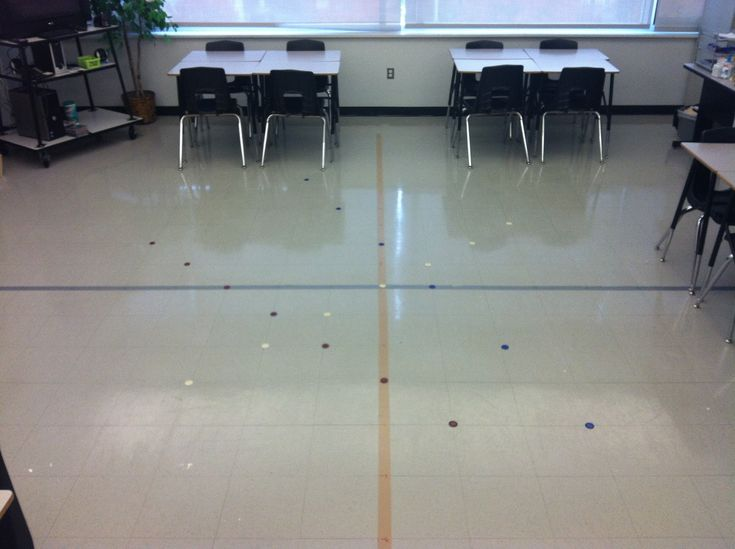Turn your classroom into a Coordinate Plane to teach slope, graphing, distance formula, etc.! A perfect hands-on activity for math teachers.