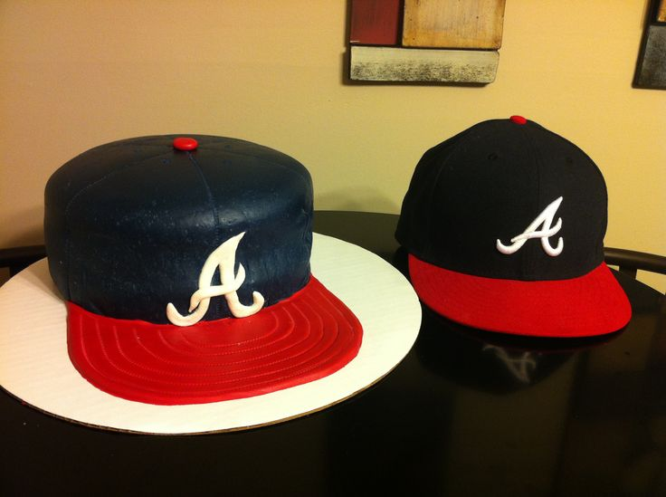 Atlanta Braves Hat : Red Velvet Cake