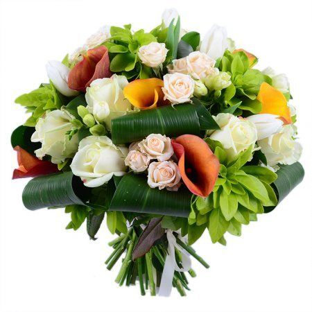 """""""Springful"""" #bouquet for #business partner as well as for #birthday person"""