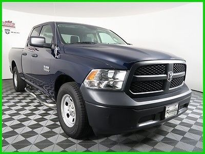 cool 2014 Ram 1500 Tradesman 4x2 V6 Used Quad Cab Spray-in Bedliner - For Sale