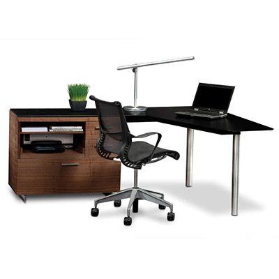 BDI SEQUEL 6018 LEFT OR RIGHT FACING PENINSULA: Design Quest Contemporary  Furniture And Accessories