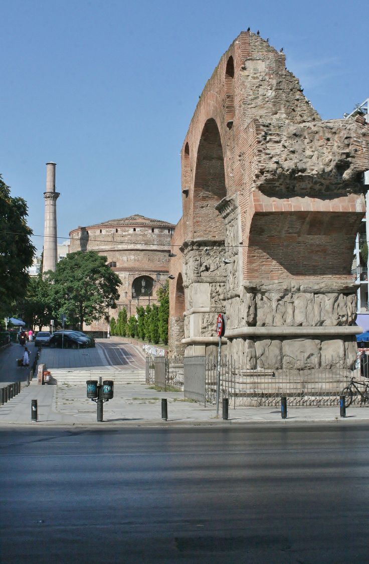Galerius' Triumph Arch, Rotonda, Thessaloniki, Greece.