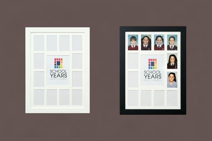 Available Soon - Wall hanging School Years Frame. Same great layout, using larger size school photos!