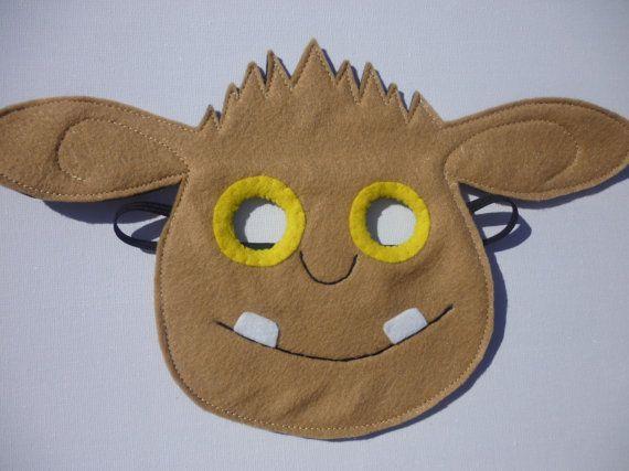 Hand finished GRUFFALO'S CHILD mask/toy/dress by MummyHughesy, £8.00
